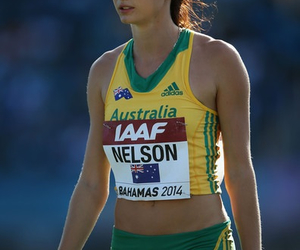 athlete, nelson, and 200m image