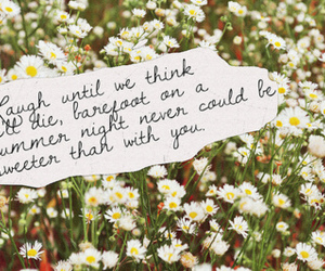 flowers, quote, and summer image