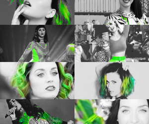 green, katy perry, and prism image