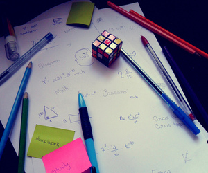 cubo magico, homework, and matematica image
