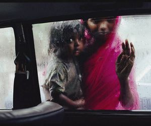 india, rain, and photography image