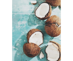 coconut, summer, and food image
