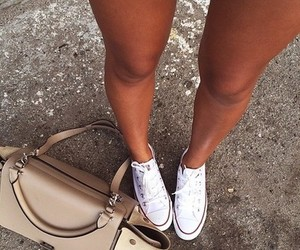 converse, fashion, and bag image