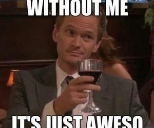 awesome, barney, and Barney Stinson image