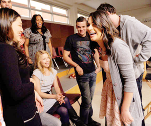 glee, good times, and glee cast image