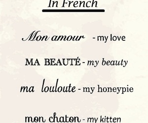 french, love, and sweet image