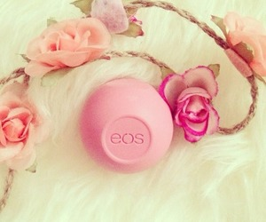 eos, flowers, and pink image