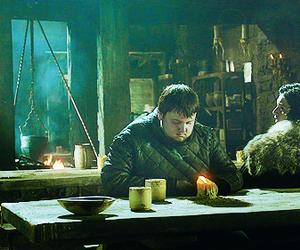 game of thrones, jon snow, and samwell tarly image