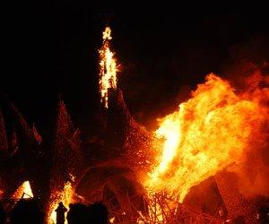 awesome, guy, and Burning Man image