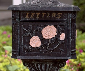 Letter, mail, and vintage image