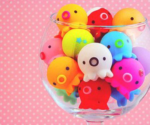 cute, kawaii, and colors image
