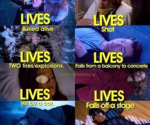 pll, pretty little liars, and lol image