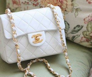 chanel, bag, and white image