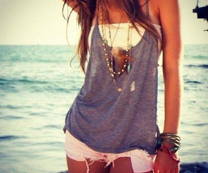 fashion, summer, and beach image