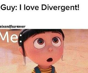 divergent, single, and book image