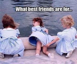 best friends, family, and funny image