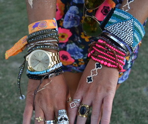 coachella, indie, and rings image