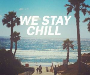 beach, chill, and cool image