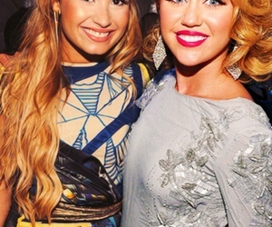 miley and demi image