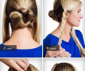 braid, diy, and fashion image