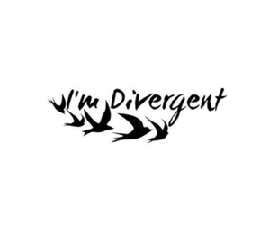 divergent, overlay, and tris image
