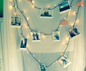 diy, lights, and pictures image