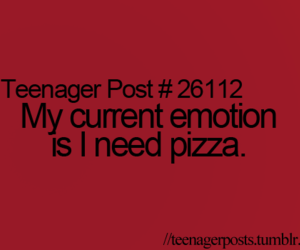 pizza, post, and teenager image