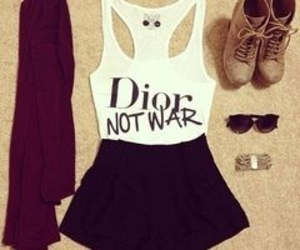 fashion, outfit, and dior image