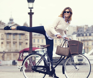 bicycle, europe, and fashion image