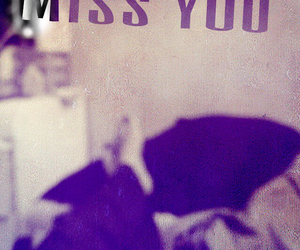 alone, bed, and miss you image