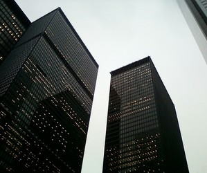 black, building, and buildings image