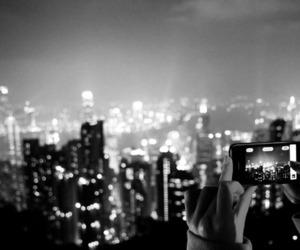 light, city, and hong kong image
