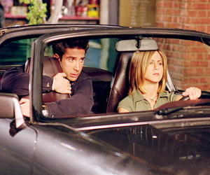 rachel green and ross geller image