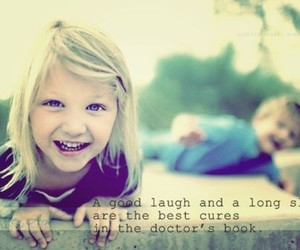 laugh, kids, and quote image