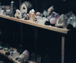 crystal, photo, and stone image