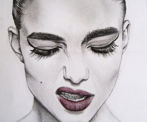 arts, beautiful, and pensil image