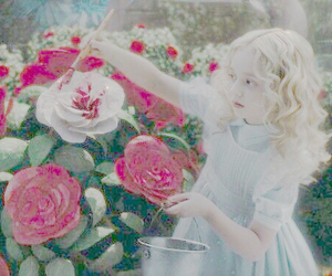 alice, alice in wonderland, and pale image