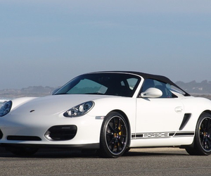 porsche, withe, and boxster image
