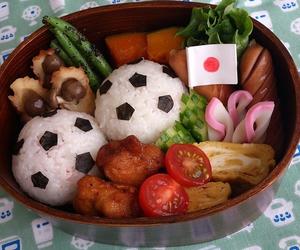 food, football, and handmade image