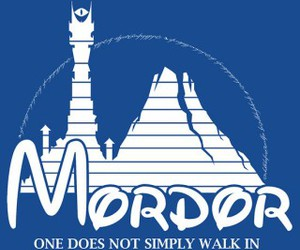 mordor, lord of the rings, and disney image