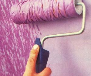 diy, paint, and purple image