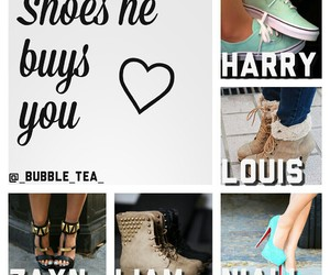 boots, zayn malik, and Harry Styles image