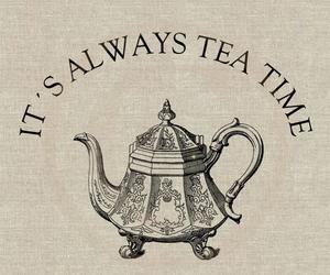 tea, time, and tea time image