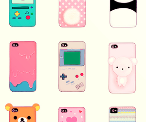 iphone, panda, and case image