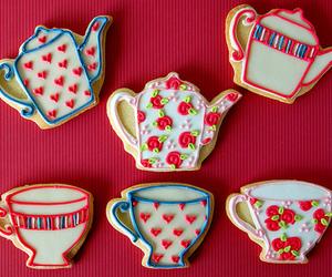 Cookies, tea, and sweet image