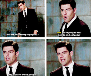 quotes, schmidt, and new girl image