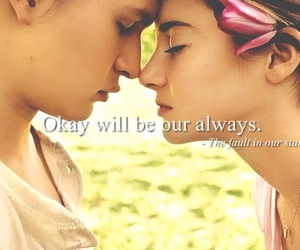 quote, the fault in our stars, and augustus waters image