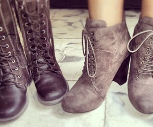 boots, cute, and casual image