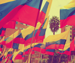colombia, flags, and Lithuania image