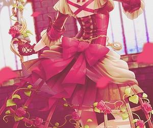 anime, anime girl, and dress image